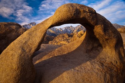 Mobius Arch - Lone pine, CA